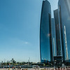 Skyscrapers by the Emirate Palace