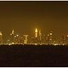 View of Dubai from Ship in Persian Gulf