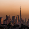 View of Dubai from Port