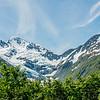 Portage glacier at the distance