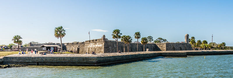 Castillo de San Marcos, 1672