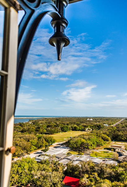 St Augustine from the top of the Lighthouse