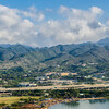 Helicopter ride over Oahu