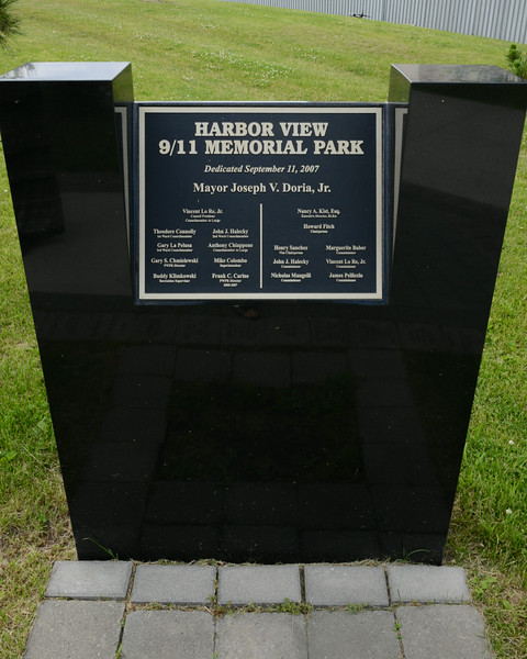 Harbor View Memorial Park, NJ<br /> Gift devoted to 9/11 from Russia to US