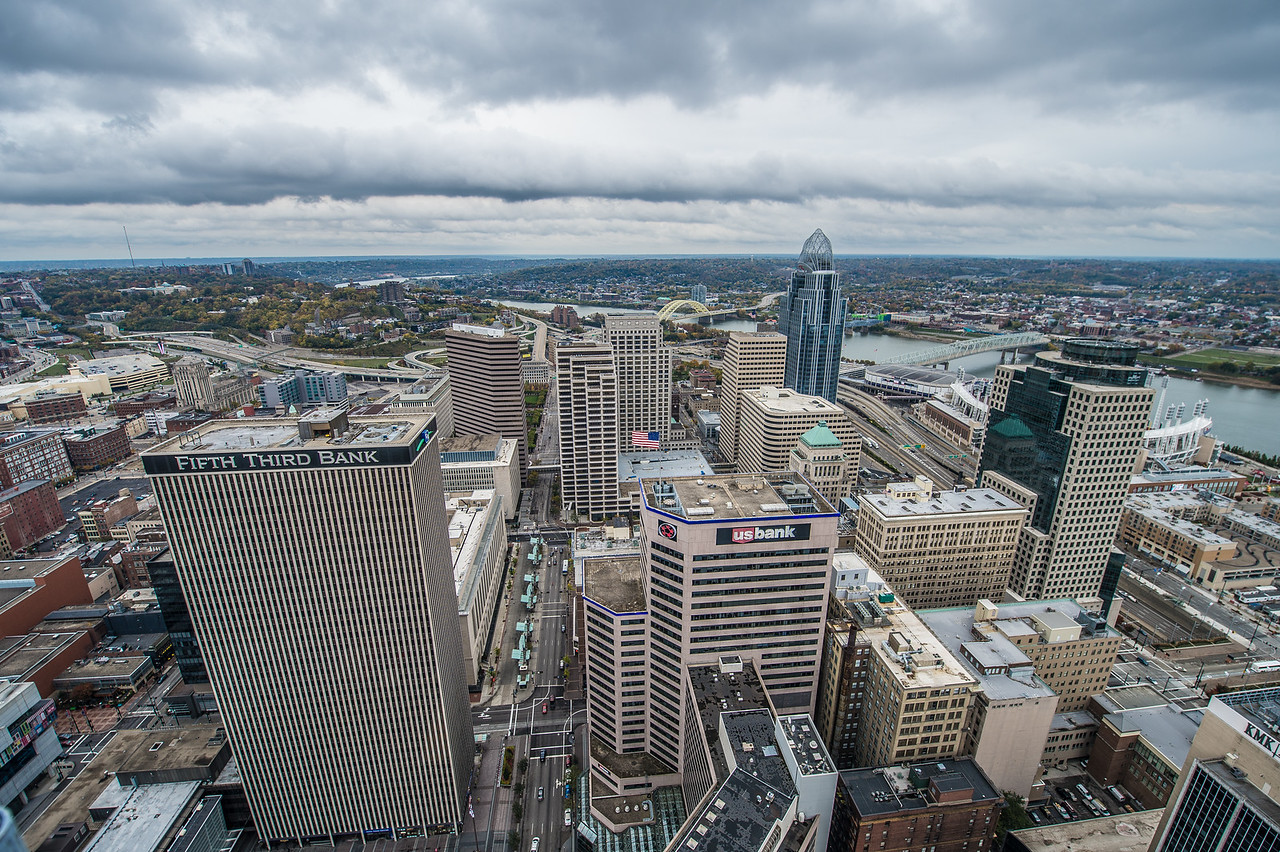 The View of the City from the Carew Tower