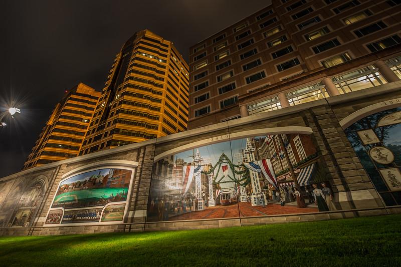 Night City Roebling Murals