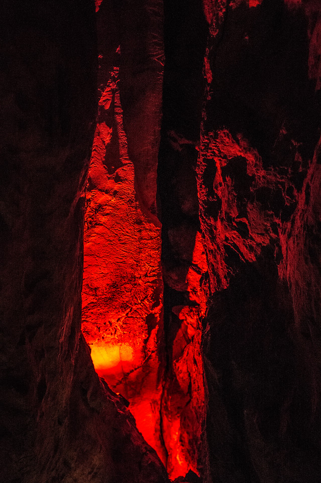 Ruby Falls Caves