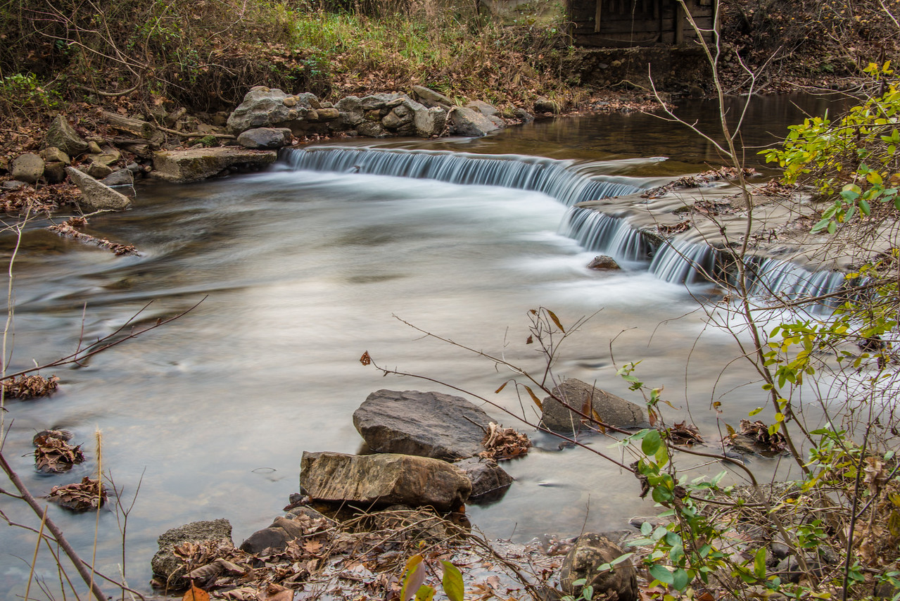 Fenwick Mines Waterfalls