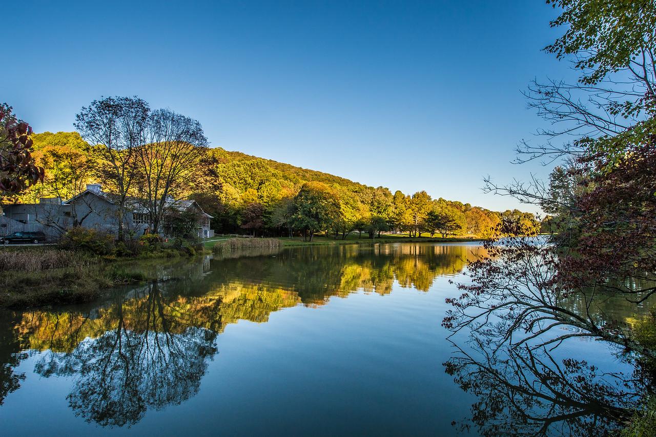 Abbott Lake at Peaks of Otter, VA
