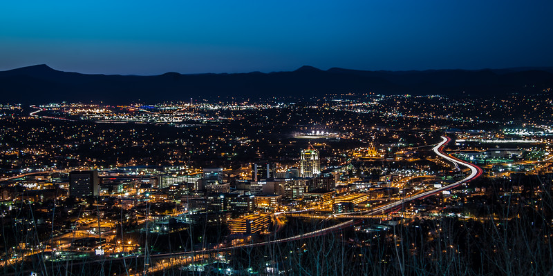 Roanoke at Night