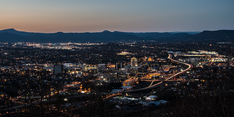Night Roanoke