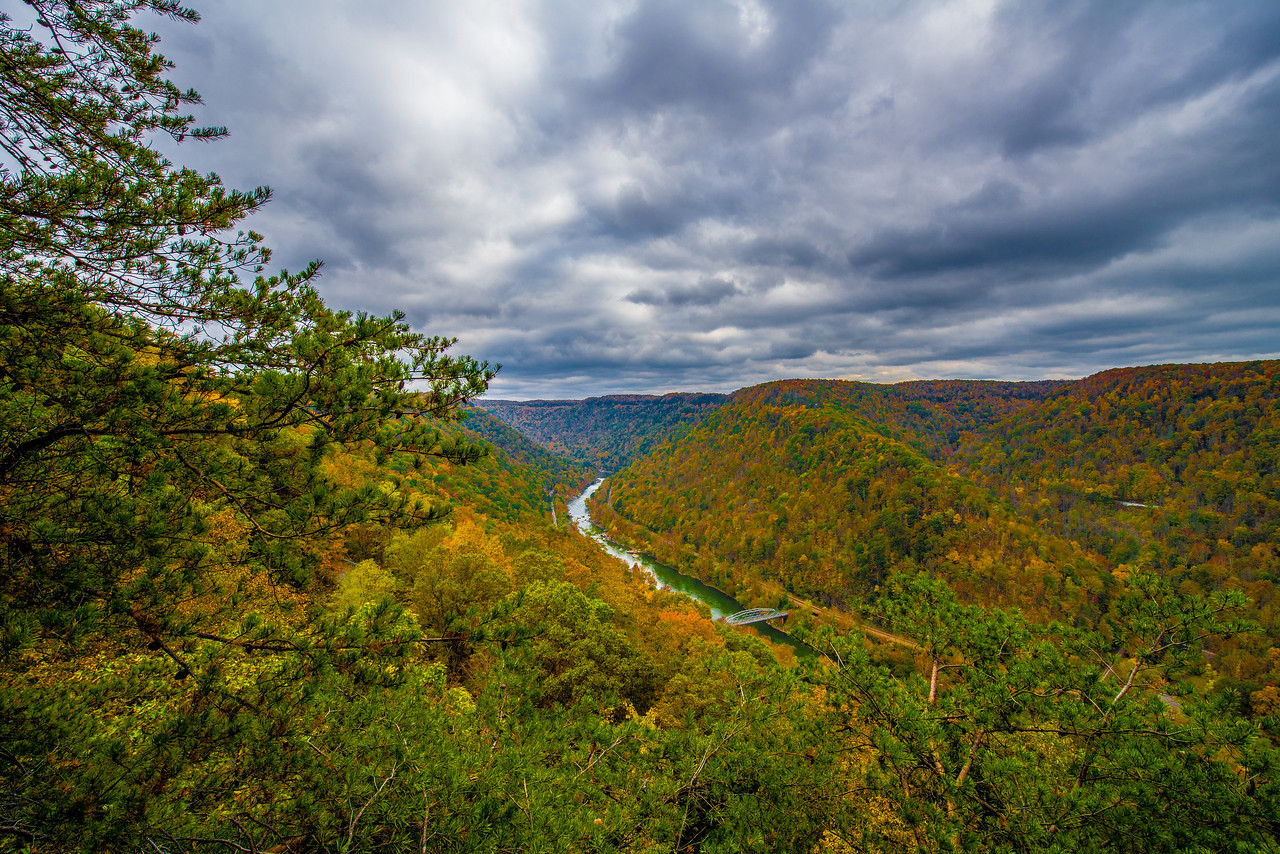 New River Gorge in the Fall