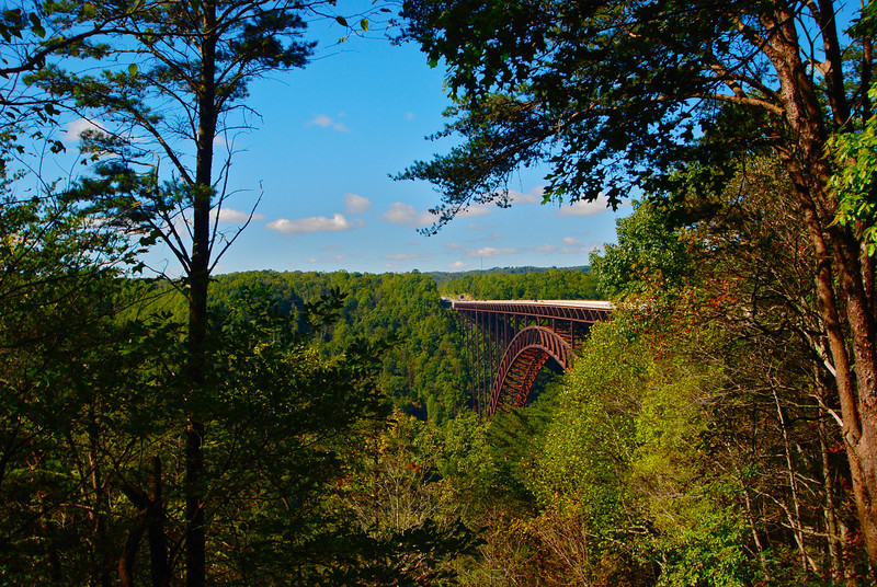 New River Gorge Bridge in the Fall