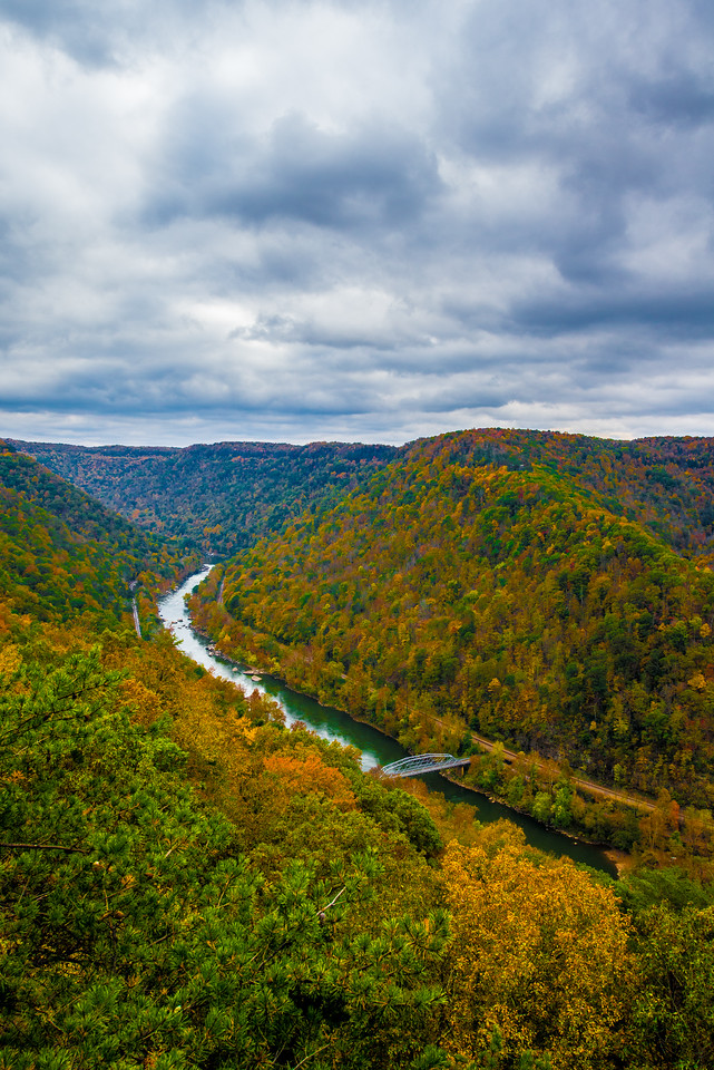 New River Gorge in Fall