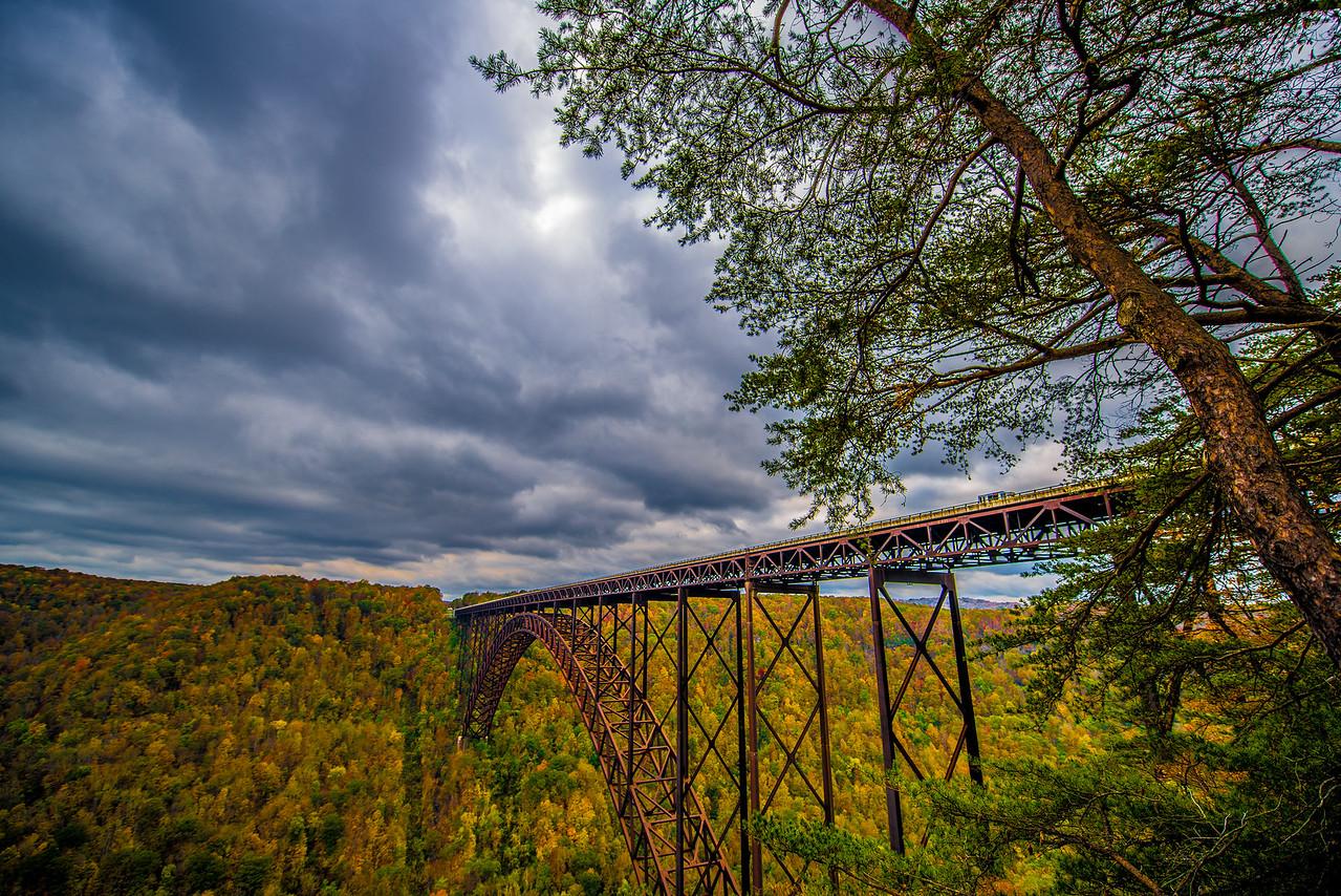 New River Gorge Bridge in Fall
