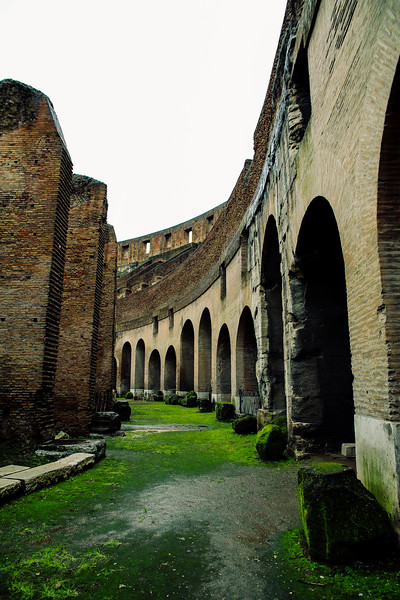 Where the gladiators walked