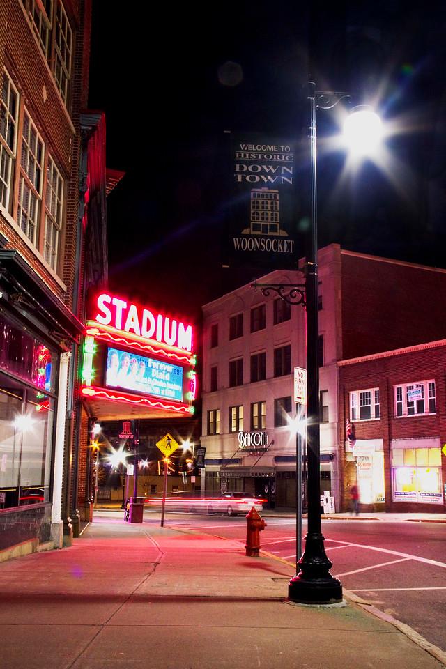 Downtown Woonsocket, RI