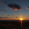 Sunset over Lake Michigan - Ludington State Park