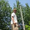 At the flag pole, Tallan Lake