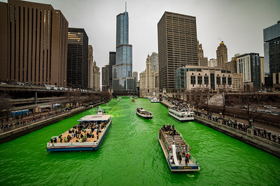 The Greening of the Chicago River 2018 Edition