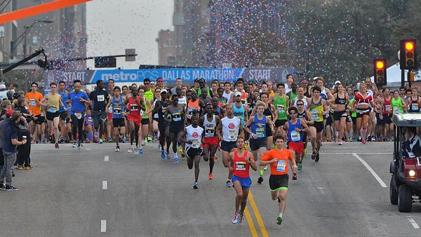 Dallas Marathon 2012