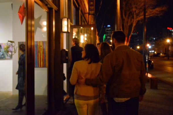Deep Ellum Gallery Walk - 2015-02