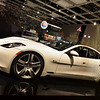Fisker Karma Plug-in Hybrid on display at Highland Park Village