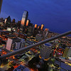 Dallas skyline as viewed from Reunion Tower