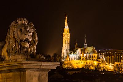 Matthias Church by Night