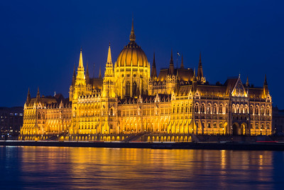 Budapest Parliment by Night