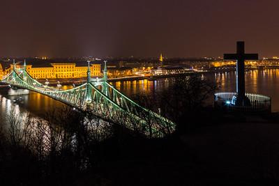 Liberty Bridge Night