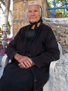 Old Greek Matriarch