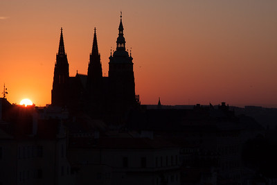 Prague Castle Sunrise