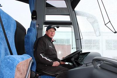 """Автобус хоккейной школы """"Трактор"""""""