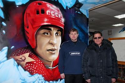 Братья Макаровы: Николай, Юрий и Сергей