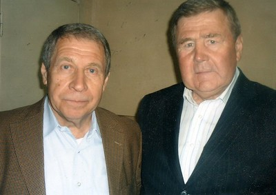 Юрий Михайлович Перегудов и Геннадий Федорович Цыгуров