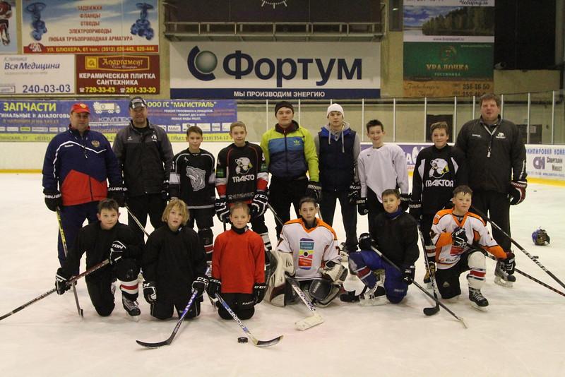 28 ноября в челябинской хоккейной школе