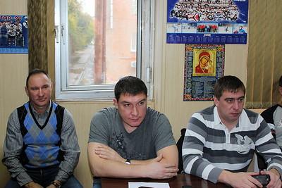 """Хоккейная школа """"Трактор"""" (Челябинск), тренерский совет, 3 октября 2011"""