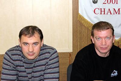 Евгений Галкин и Олег Черкасов