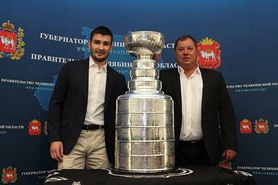 Тренер Вячеслава Войнова Станислав Шадрин рассказал в интервью 74hockey.ru о своем воспитаннике.