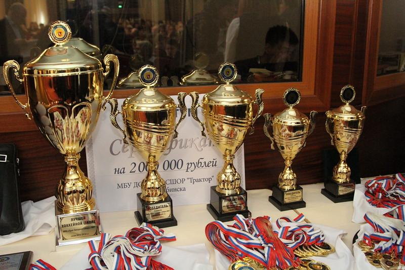 """18 мая 2016 года в фешенебельном челябинском гранд-отеле """"Видгоф"""" прошло награждение команд хоккейной школы """"Трактор"""" по итогам сезона 2015-2016 годов."""