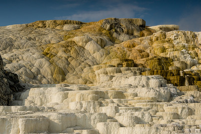 Mammoth Hot springs, 10-mi from YBI
