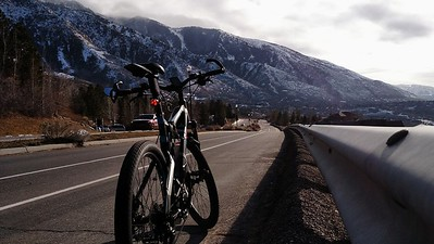 Riding Wasatch on a Thudbuster suspension seat post & Origin8 seatpost clamp