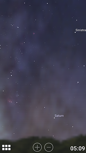 Stellarium Mobile: the morning sky across BCC