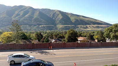 BSgT: the tan, horizontal line across the base of the mtns. On ramp at far RHS.