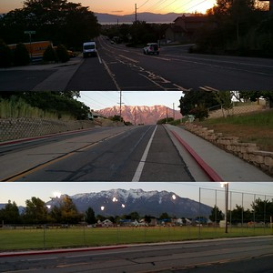 Walk from Orem's Front Runner station up 400 S to CNGUtah: 3.2 mi.