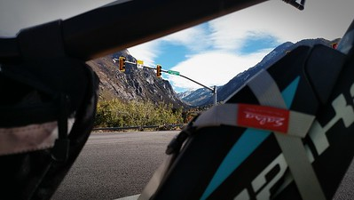 Framing the Wasatch w Haibike