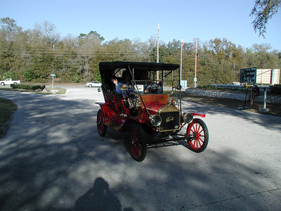 Model T Fords at Rainbow River State Park