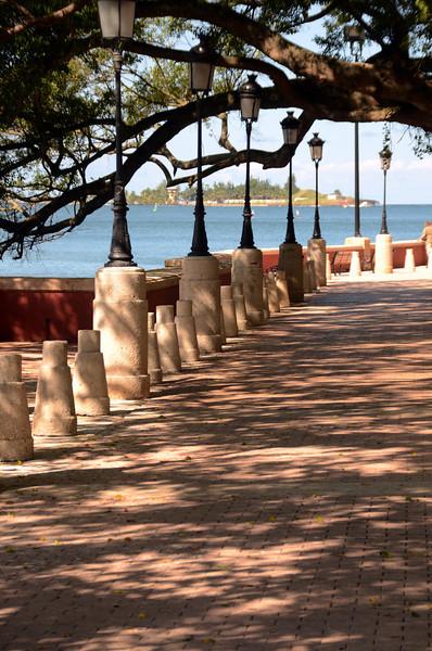 Paseo La Princesa, Old San Juan, Perto Rico