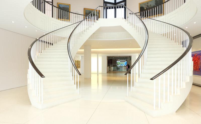 Sweeping Staircase, Museo de Arte de Ponce